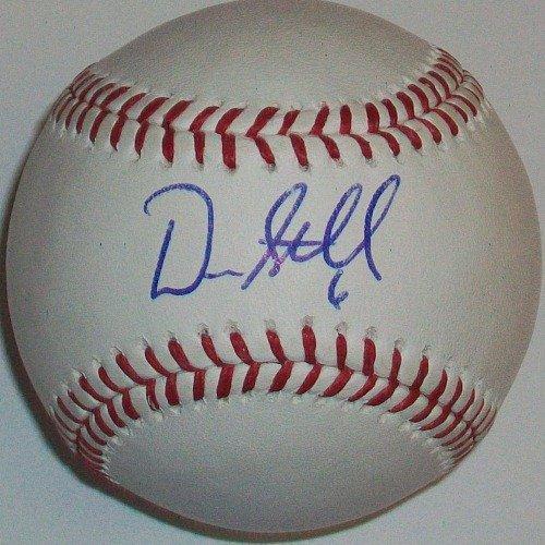 Drew Stubbs Autographed Baseball
