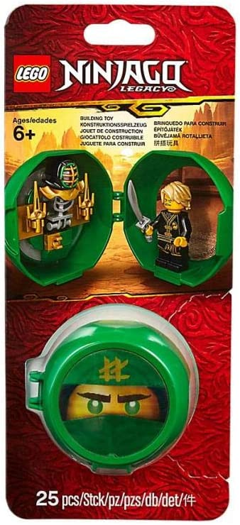 Ninjago Legacy Lego Lloyd's Kendo Training Pod Minifigure 853899 (25 Pieces)