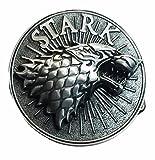stark belt buckle - Game of Thrones Stark Embossed Pewter Symbol Logo Metal Belt Buckle
