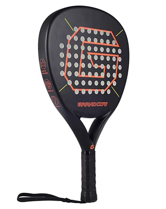 Amazon.com: Grand Cow - Raqueta de pádel y pala de tenis ...