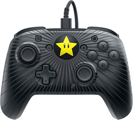 PDP - Mando Pro Super Mario Star Edition (Nintendo Switch): Amazon ...