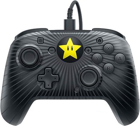 PDP - Mando Pro Super Mario Star Edition (Nintendo Switch): Amazon ...