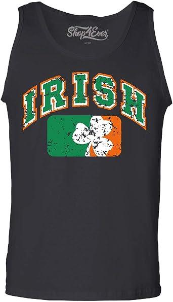 SpiritForged Apparel Saint Patrick Made Me Do It Mens Tank Top