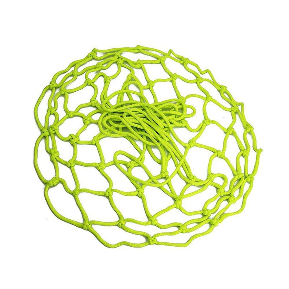 Womdee Filet de Basket-Ball en Nylon Phosphorescent pour ext/érieur R/ésistant aux intemp/éries