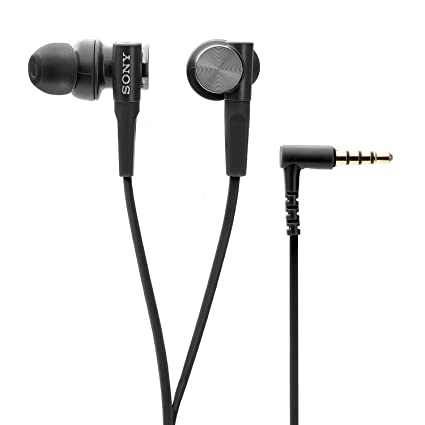 09192d10043 Image Unavailable. Image not available for. Colour: Sony Extra Bass MDR-XB50AP  in-Ear Headphones with Mic (Black)