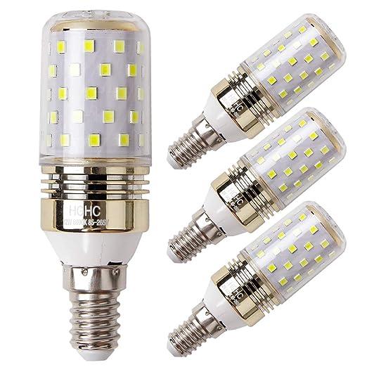 E14 LED maíz bombilla 12W, 6000K Blanco Frío LED Bombillas, 100W Incandescente Bombillas Equivalentes