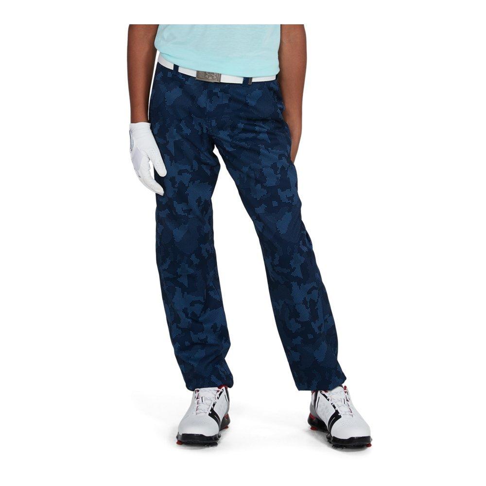 Under Armour Boys' Match Play Printed Pants,Academy (408)/Academy, 16