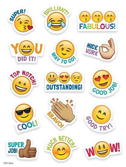 Creative teaching press emoji rewards stickers 4143
