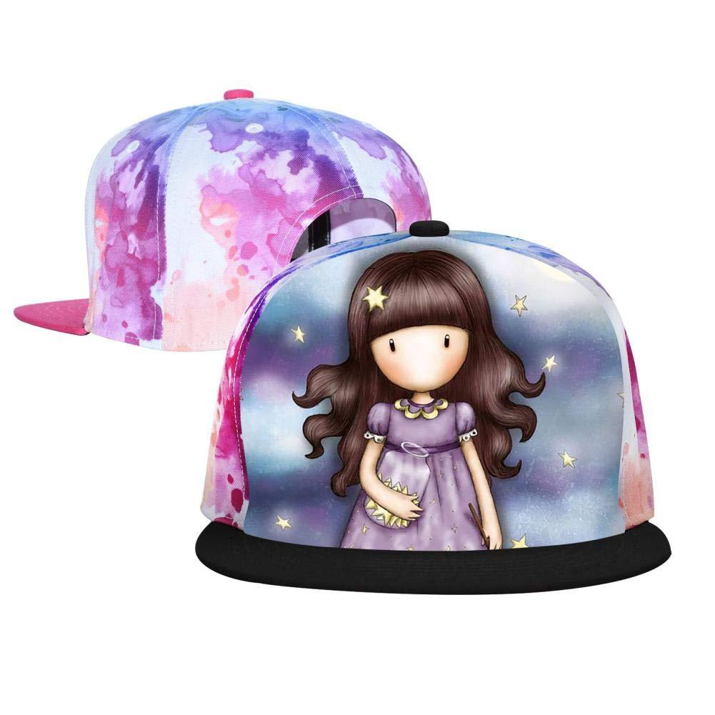 PASPTTO Sister Hip Hop Hat Mens Fashion Full Frame 3D Print Adjustable Truck Driver Baseball Cap