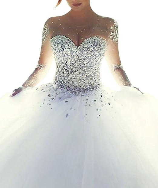 Vestidos de novia blanco amazon