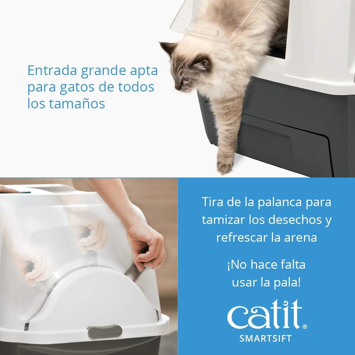 Catit Bandeja Sanitaria Automática Smartsift: Amazon.es: Productos para mascotas