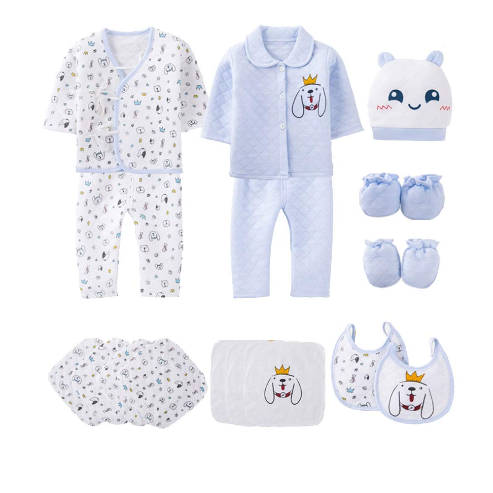 b99ce2ad5 Amazon.com  Yu Li 18pcs Unisex Newborn Baby Boy Girl Clothes Sets