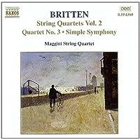 Britten: String Quartets, Vol.2