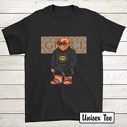 Amazon.com: Gucci Bigger Bear Gucci - Camiseta para hombre y ...