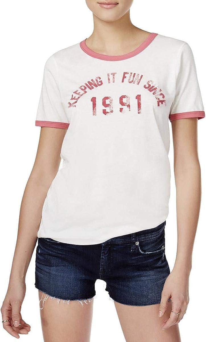 Junk Food Womens Keeping It Fun Graphic T-Shirt