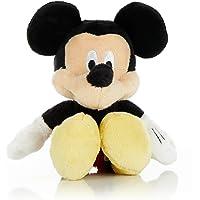 KIDS PREFERRED Disney Baby Mickey Mouse Stuffed Animal Plush Toy Mini Jingler, 6.5 inches
