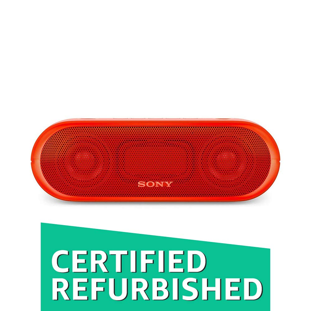(CERTIFIED REFURBISHED) Sony SRS-XB20/RC-IN Portable