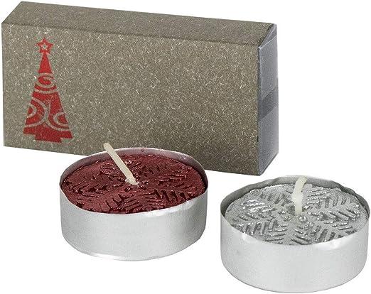 Lote de 50 Pack de 2 velitas en Caja diseño Navidad. Regalos Empresa, Detalles Navidad.: Amazon.es: Hogar