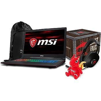 Mobile Advance MSI GP63 Leopard-041 - computadora portátil para Videojuegos (15,6 Pulgadas, Intel Core i7-8750H, GTX1050TI, 16 GB DDR4, 128 GB SSD + 1 TB HDD, Win10 + Gaming)