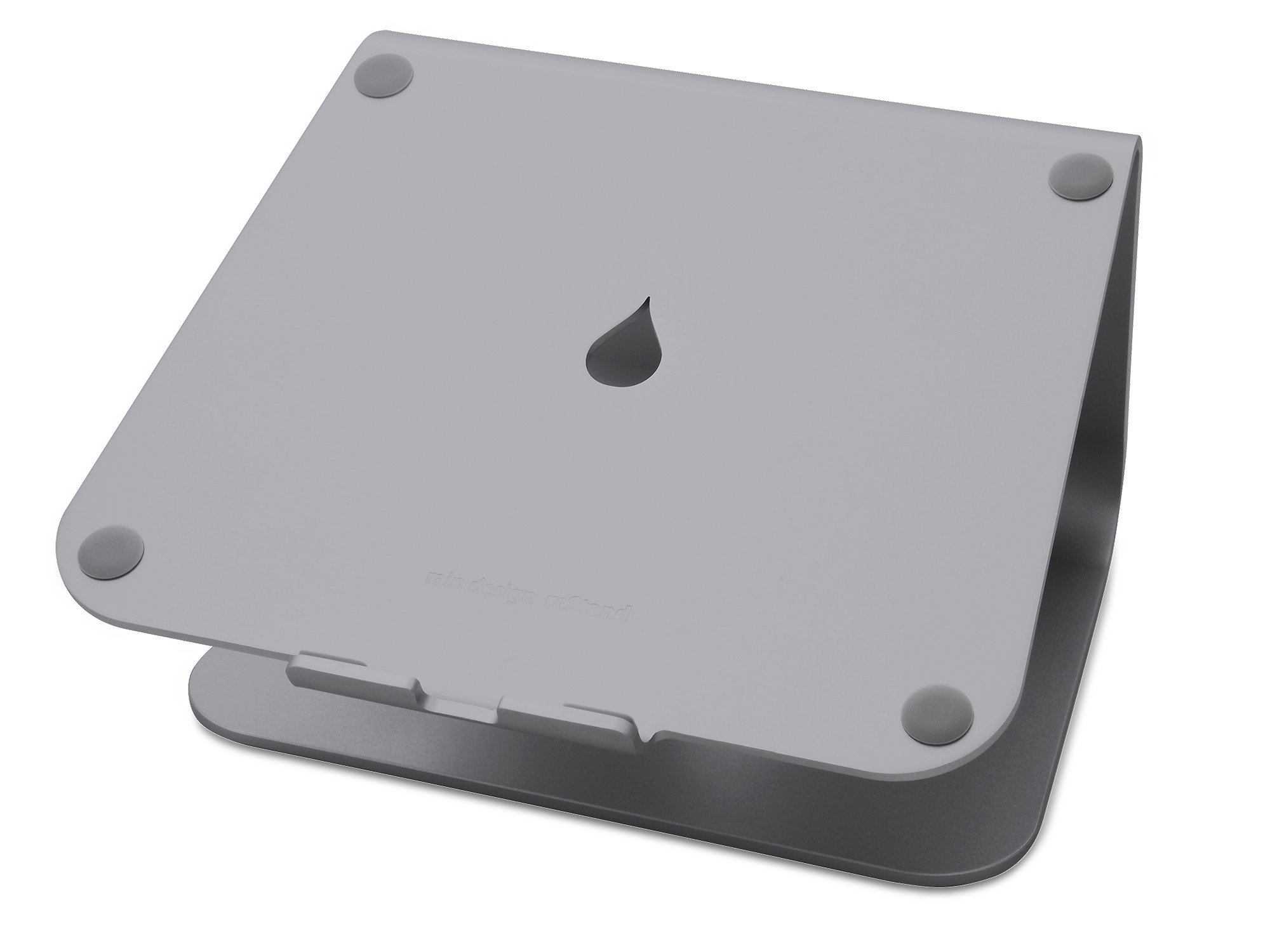 Rain Design mStand360 Laptop Stand with Swivel Base, Space Gray (Patented)