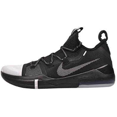 6ff8ed75781d Nike Kobe Ad Mens Ar5515-002 Size 7 Black Black-White