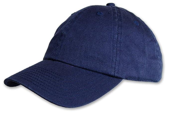 Fair Hemp Hemp and Organic Cotton Unstructured EcoWash Baseball Hat (Blue) 28de97f130d