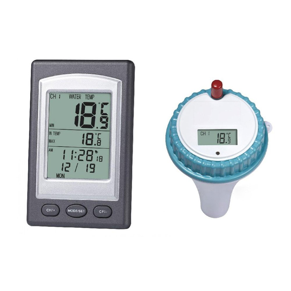 Trolax (TM) Hot 1pcs Wireless Thermometer In Swimming Pool Spa Hot Tub Waterproof Thermometer New