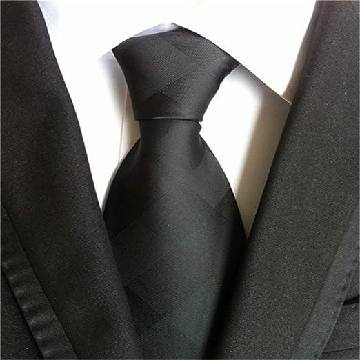 NSLDQ Corbata Corbatas de Seda para Hombres Corbata de Boda 8 cm ...