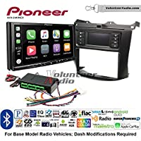 Volunteer Audio Pioneer AVH-2440NEX Double Din Radio Install Kit with Apple CarPlay, Android Auto and Bluetooth Fits 2003-2007 Honda Accord