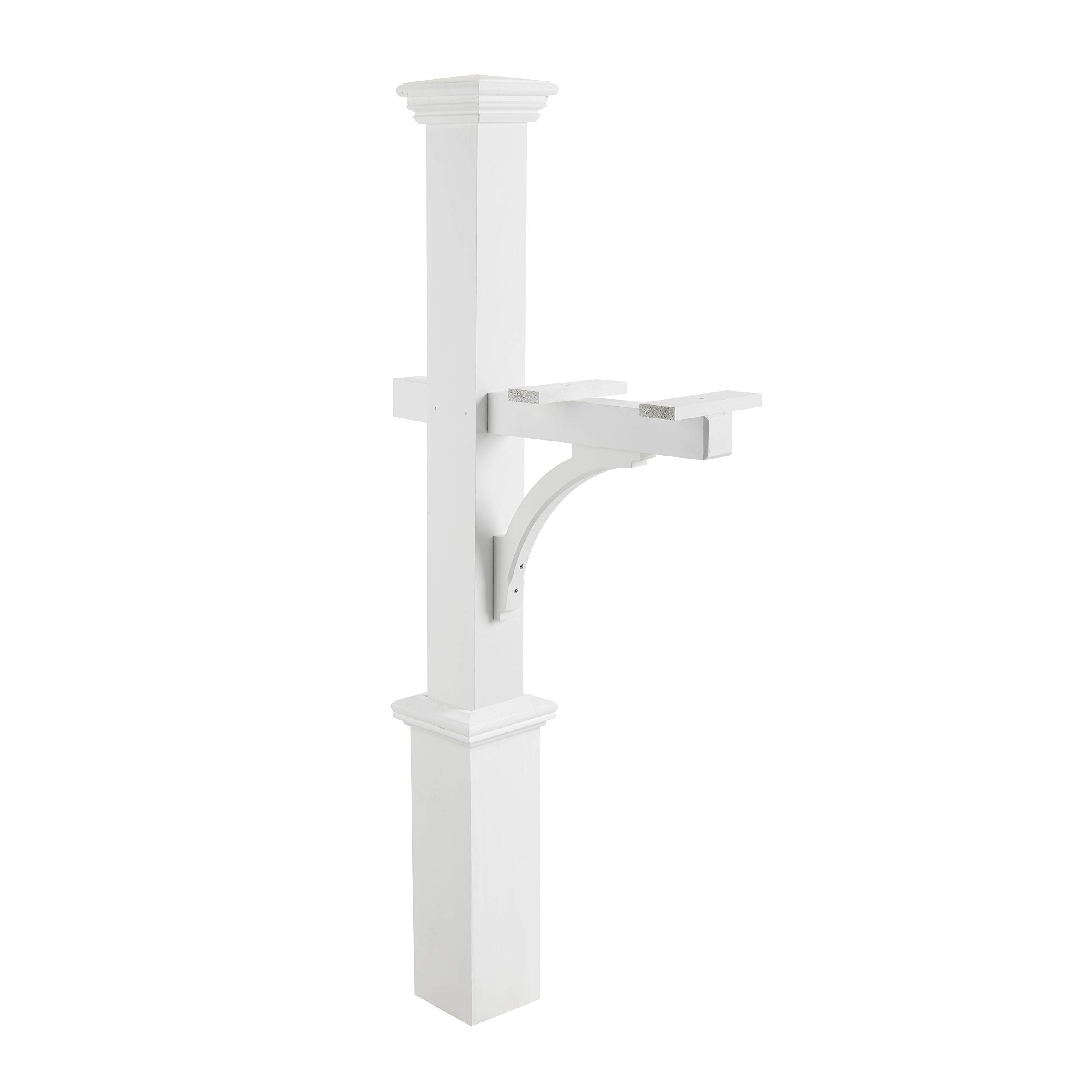 Good Directions 999204 Mailbox Post, One Size, White by Good Directions