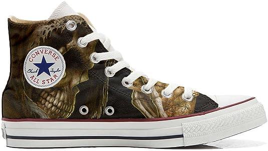 chaussures tête de mort homme femme 9
