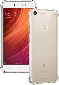 Funda Xiaomi Redmi Note 5A Prime, Siuber Delgado Crystal Clear ...
