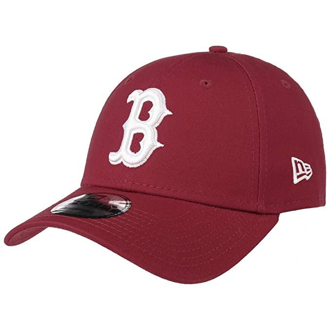 A NEW ERA Era Boston Red Sox 9forty Adjustable Cap League Essential  Cardinal White - 436a809254d