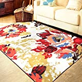 MeMoreCool Fashion Home,Designer Boho Retro Style Living Room Floor Carpets,Colorful Upscale Home Decoration Mats...