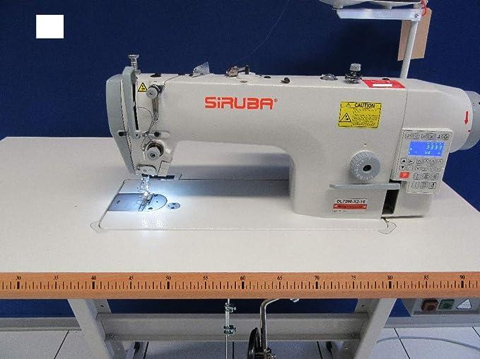 Siruba DL7200-BX2-16 - Máquina de Coser Industrial con Cortador ...