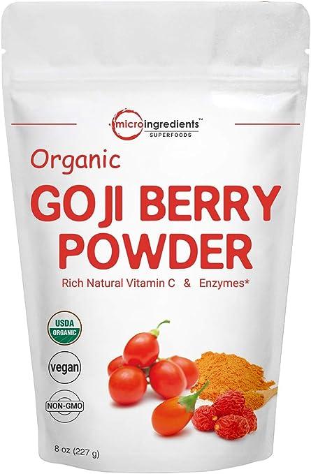 Amazon Com Organic Goji Powder Freeze Dried Goji Berries Powder