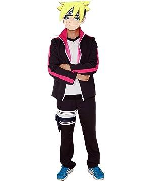 Naruto Uzumaki Boruto Costore Nueva moda traje de Cosplay ...