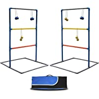 Maggift Ladder Toss Game Set Ladderball Game Set for Indoor or Outdoor with 6 Bolas, Carrying Case