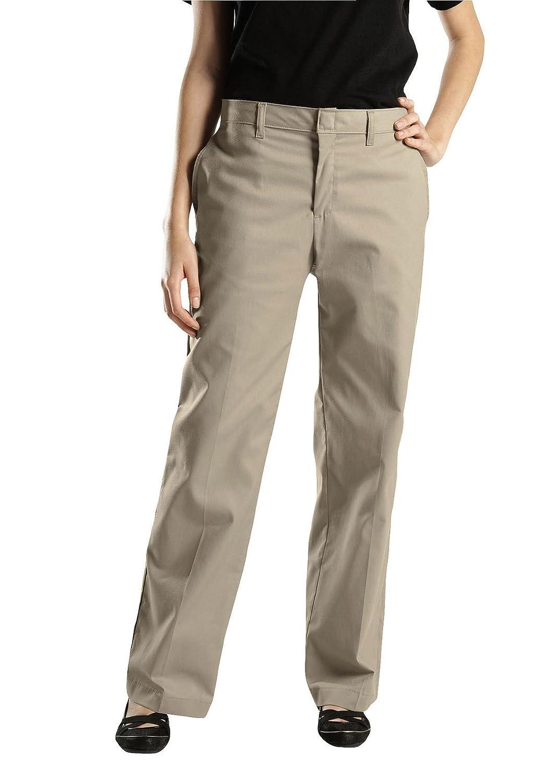 Dickies Women's FPW221 Premium Flat Front Pant, Plus 24W RG