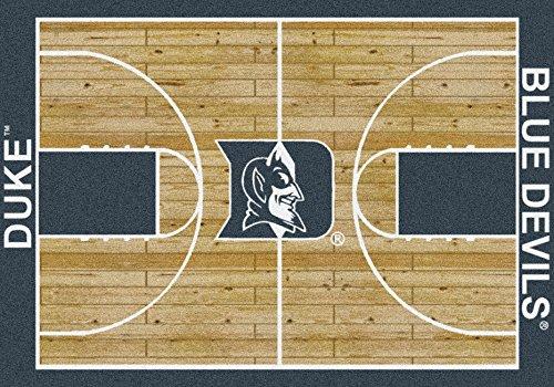 Milliken Duke Blue Devils NCAA Home Court Area Rug (3'10