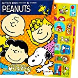 Peanuts Snoopy Coloring and Activity Book with Stickers