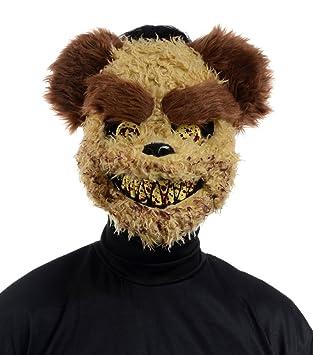 Terror Oso Máscara ~ Richard ~ Halloween Oso De Peluche Máscara ~ Horror Osito