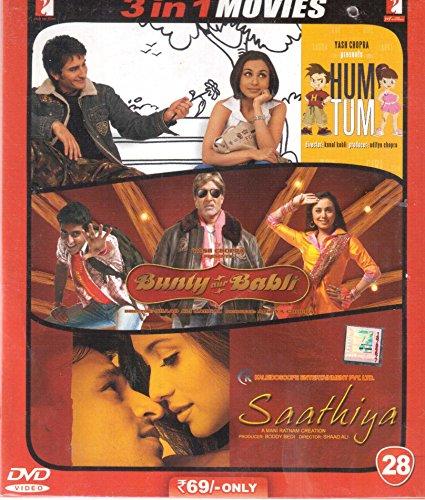 Hum Tum/Bunty Aur Babli/Saathiya DVD