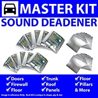Zirgo 315142 Heat and Sound Deadener (for 96-03 BMW 5 Series E39 ~ Master Kit)