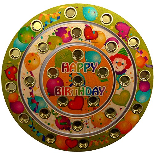 """Price comparison product image Hess 15643 """"Happy Birthday Wooden Wreath Kit"""
