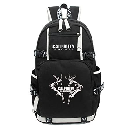29ef197e551 Image Unavailable. Image not available for. Color  Bookbag Backpacks for  School with Call of Duty Shoulder Luminous Bag Boys Kids Students Book Bags