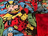 Weighted Blanket child, Avengers, 6 1/2 lbs, ready to ship, washable, great everyday size