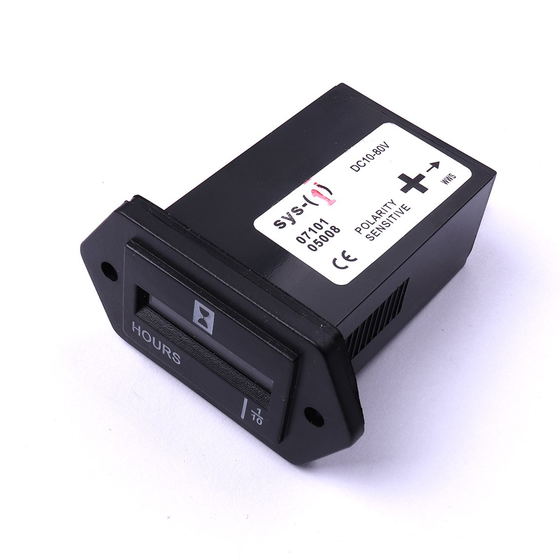 80v Dc Diesel Outboard Engine Hour Meter Rectangular Atoplee Boat Truck Tractor SYS-1 10v