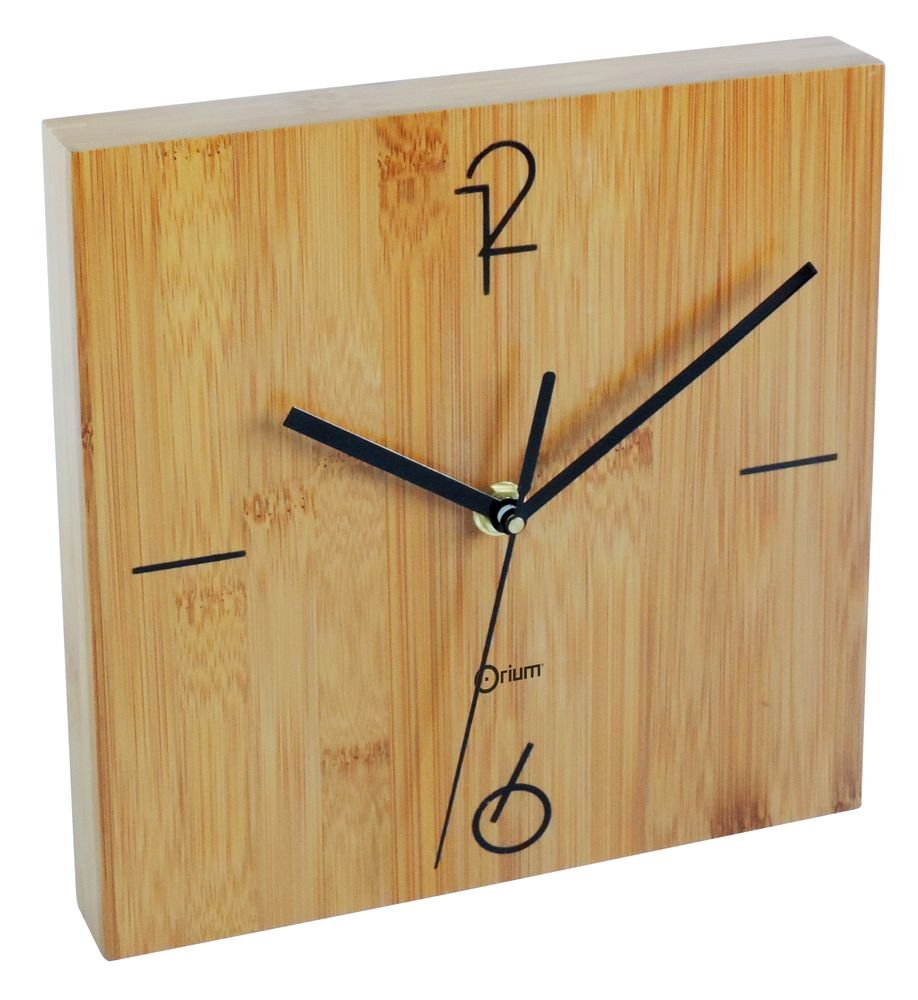 orologio in bambù