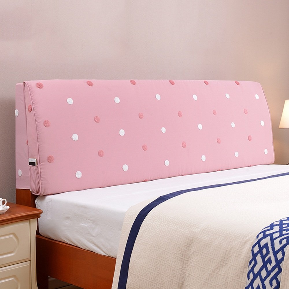Hotel bed removable removable European bedside cushions / large back pad / fabric pillow / ( Size : 1605510cm )